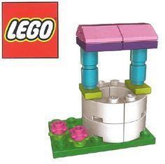 Constructibles Wishing Well Mini Build LEGO Parts & Instructions Kit. Big Lego, Cool Lego, Lego Furniture, Minecraft Furniture, Lego Clones, Lego Creative, Lego Challenge, Lego Craft, Lego For Kids