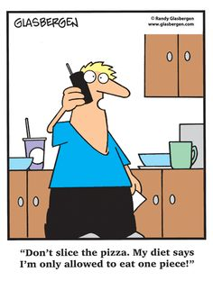 hahaha the things we do when we're on a diet... ;-) | via @SparkPeople #funny #humor #cartoon