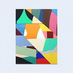 BEERS London Geometric Painting, Abstract Shapes, Abstract Art, Edge City, Graphic Design Lessons, Illustration Art, Illustrations, Canvas Wall Art, Modern Art