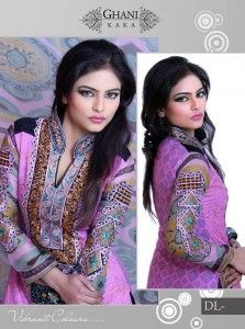 Ghani Textile Casual Wear Dresses 2014 For Modern Women