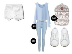 """My First Polyvore Outfit"" by meaghanhaycock ❤ liked on Polyvore featuring Uniqlo, Abercrombie & Fitch, Billabong, Topshop and adidas Originals"