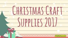 For you serious crafters we have already started bringing in our Christmas Craft supplies. You can get a sneak peek and start buying now!