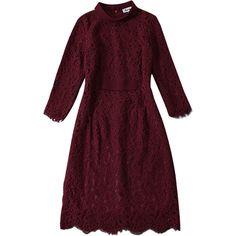plus size self PORTRAIT 2017 autumn long sleeve red dress mini women dresses party summer lace dress vestidos ukraine robe femme