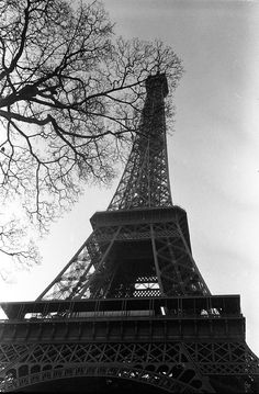 The Eiffel Tower in Black and White - http://www.lomography.com/magazine/locations/2012/04/20/locations-in-black-and-white-the-eiffel-tower