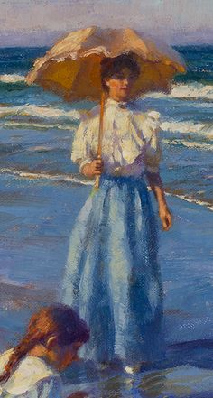 Gregory Frank Harris Shell Seekers (detail) Art Painting, Victorian Pictures, Painting Illustration, Rose Art, Painting, Female Art, Cute Art, Deep Art, Beach Art