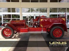 American LaFrance Fire Truck restoration by Lexus of North Miami Lexus Cars, Fire Trucks, Antique Cars, Restoration, Miami, American, Vehicles, Vintage Cars, Fire Engine