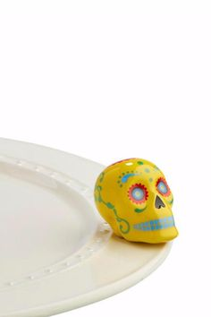 No bones about it! Check out this new Nora Fleming mini!   Sugar Skull Mini by Nora Fleming. Home & Gifts - Home Decor Pennsylvania