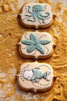 Cute Coastal Cookies