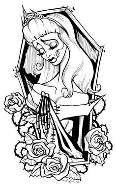 Sleeping Beauty - Gris Grimly