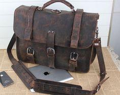 Leather Backpack Computer Bag Backpacker Sa