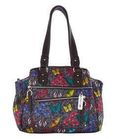 This Enchanted Butterfly Liverpool Satchel is perfect! #zulilyfinds
