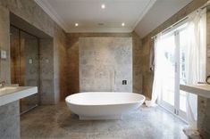 limestone bathroom - Google Search