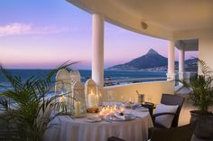 Twelve Apostles Hotel and Spa in Cape Town, South Africa The Beautiful Country, Beautiful Places, Amazing Places, Honeymoon Spots, Honeymoon Destinations, Santorini Island, Cape Town South Africa, Holiday Places, Hotel Spa