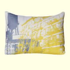 Pop art style cushion