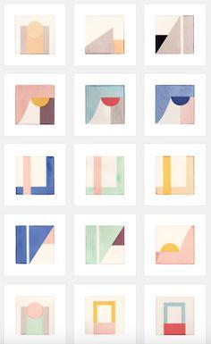 Tile Patterns, Textures Patterns, Print Patterns, Tile Design, Pattern Design, Contemporary Tile, Color Inspiration, Erin Wilson, Colours