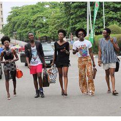B L O G G E D .  Allow me to introduce you to the cool kids☝️✌️ .  #streetstyle#streetphotography#nkotb#lagos