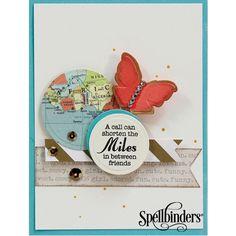 Spellbinders Card Making Ideas & Tutorial with Sapphire