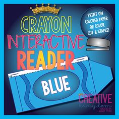 Blue Crayon Interactive Reader (IR) - My Creative Kingdom