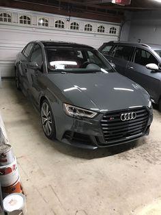 My New 2017 S3 in Nano Gray #Audi #cars #car #quattro