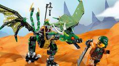 LEGO Ninjago Зеленый Дракон Лойда Игрушки для Мальчиков Ниндзяго #Лего