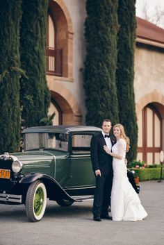 1932 Model A Getaway Car | BrittRene Photography | TheKnot.com