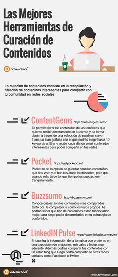 Las mejores Herramientas de curación de contenidos #communitymanagerherramientas