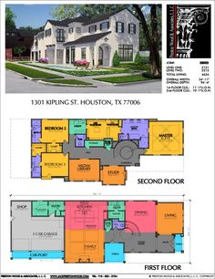 Two Story House Plans, Sims House Plans, Two Story Homes, New House Plans, Dream House Plans, House Floor Plans, Pool House Designs, Sims House Design, Home Design Floor Plans