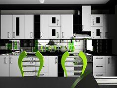 кухня, дизайн кухни, дизайн интерьера