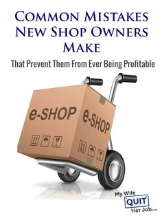 Common Mistakes New Online Store Owners Make That Prevent Them From Ever Being Profitable    After answering questions and critiquing online stores for over 4 years on this blog and running an online store course for the past year, I've noticed many common patterns and mistakes that new shop owners repeatedly make. And the funny thing is that most of these mistakes are crucial things that people often take for granted or don't consider carefully.