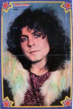 Marc Bolan pinup.