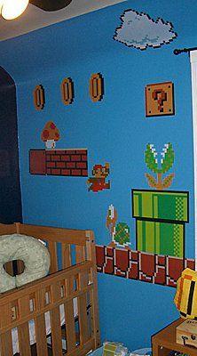 Mario Inspired Room