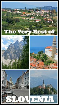Slovenia is probably one of the most underrated countries in Europe! With so much to offer, including a small but gorgeous coastline, multiple wine regions, stunning natural attractions, charming smal Europe Destinations, Europe Travel Tips, European Travel, Travel Guides, Euro Travel, Travel Wall, Travel Articles, Visit Slovenia, Slovenia Travel