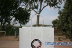bolsas de papel con asa rizada www.bolsapubli.net