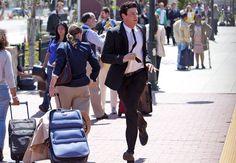 """Finn Runs After Rachel's Train in the Glee Season 3 Finale, Episode 22: """"Goodbye"""""""