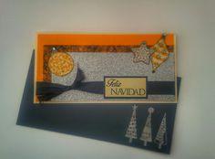 Postal Navidad Naranja - Orange Xmas card