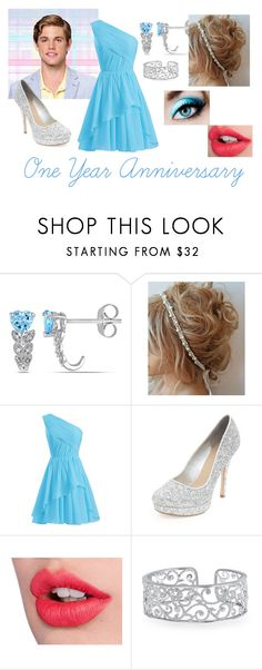 """""""One Year Anniversary with Chad"""" by luv-virgo-girl ❤ liked on Polyvore featuring Miadora and Charlotte Tilbury"""