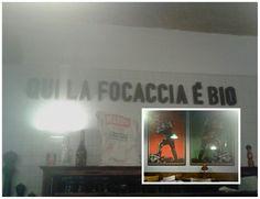 Focacceria Sant'Agostino. Torino. Focaccia di Recco a Torino