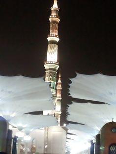 مآذن \ المسجد النبوي \ المدينة المنورة