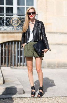 Street Style Paris Fashion Week Spring 2014 Joanna Hillman in Celine Sandals