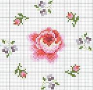 Free Rose Cross Stitch Charts | Cross stitch