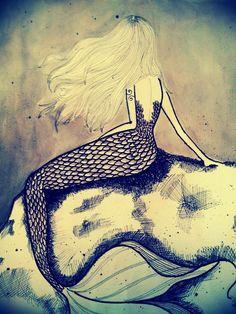 Inspiration for a mermaid painting in the bathroom Real Mermaids, Mermaids And Mermen, Fantasy Mermaids, Magical Creatures, Sea Creatures, Mermaid Art, Mermaid Paintings, Mermaid Sketch, Mermaid Pose