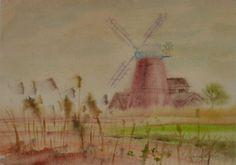 Wielkopolska,Duch windmill relict from the past