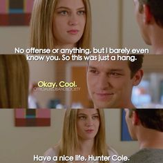 "#RedBandSociety 1x10 ""What I Did For Love"" - Kara and Hunter"