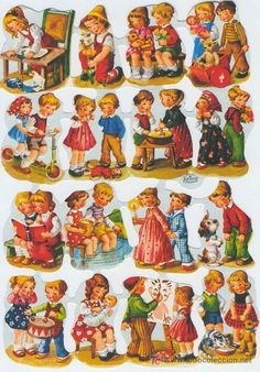 Vintage Sheets, Vintage Paper, Vintage Pictures, Cute Pictures, Christmas Decals, Christmas Candy, Old Postcards, Vintage Christmas Cards, Baby Cards