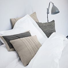 Cliveden Cushion Covers - Bedspreads & Cushions   The White Company