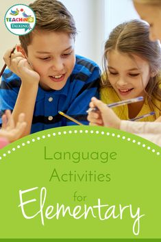 Language Activities for Elementary - Teaching Talking