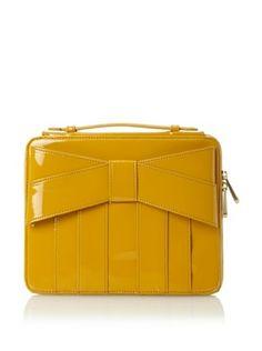 Z Spoke Zac Posen Womens Shirley Bow iPad Case (Marigold)