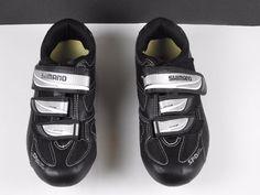 SHIMANO WR31 SPDSL Women's Mountain/Road Cycling Shoes US 7.2 EU 39 Black-3 Bolt #Shimano #Mountain