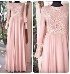 Abaya Fashion, Muslim Fashion, Modest Fashion, Fashion Dresses, Trendy Dresses, Modest Dresses, Prom Dresses, Mode Abaya, Mode Hijab
