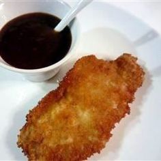 Meat And Poultry, Tonkatsu, These Breaded And Fried Pork Cutlets Make A Traditional Japanese Dish Which Is Very Simple And Easy To Make. Serve With Sticky Rice And Tonkatsu Sauce And Enjoy! Also Great If Substituted With Chicken Breasts. Chicken Katsu Recipes, Pork Cutlet Recipes, Pork Chop Recipes, Meat Recipes, Dinner Recipes, I Want Food, Love Food, Fried Chicken Coating, Asian Pork